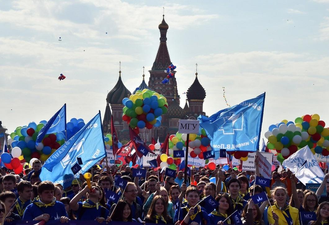 1m2014msk 10 Первомай в Москве