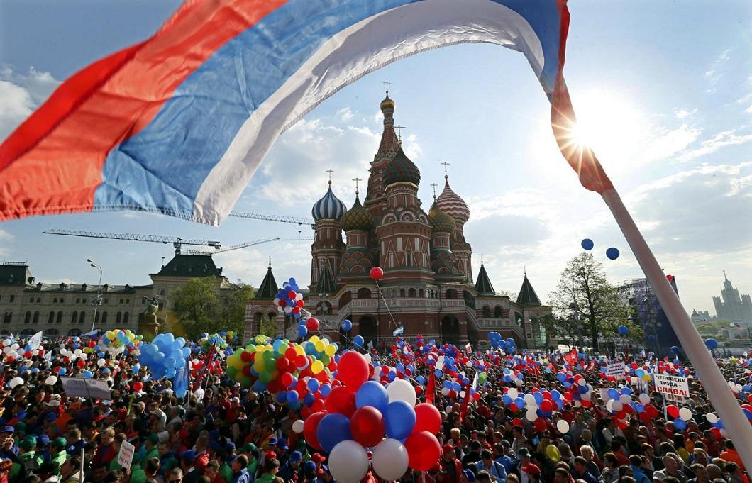 1m2014msk 19 Первомай в Москве