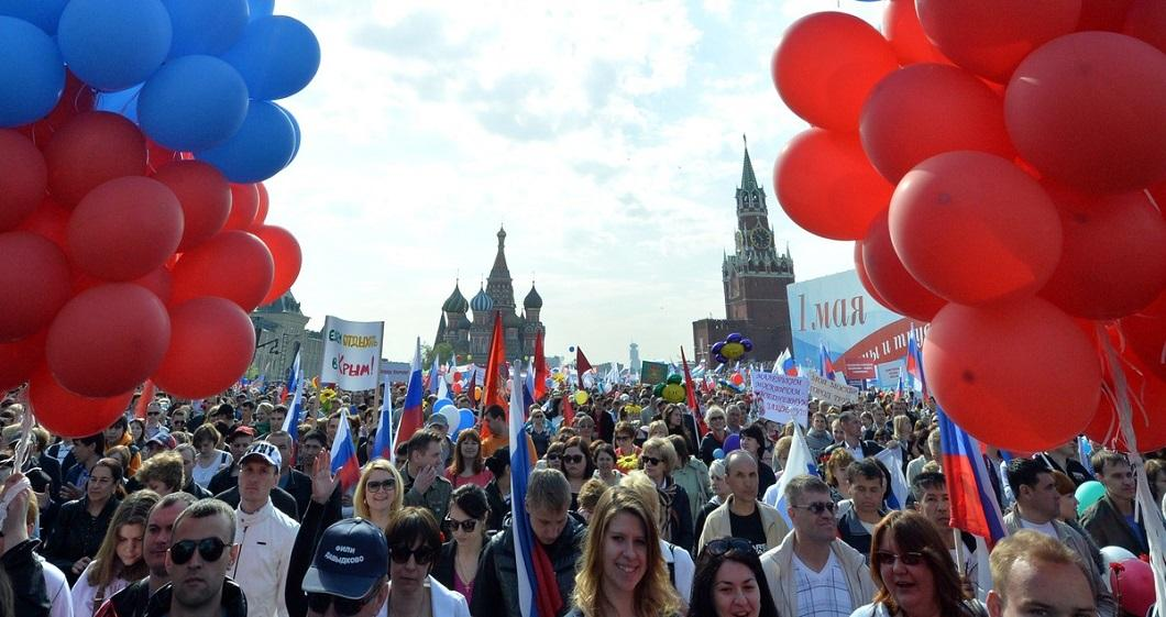 1m2014msk 9 Первомай в Москве