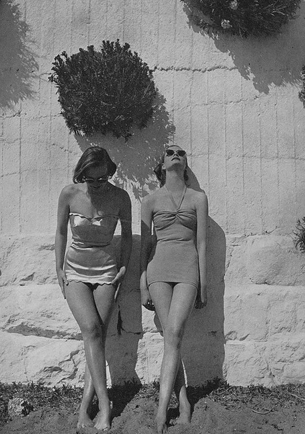 Beachfashion02 Пляжная мода 20 30 х годов XX века