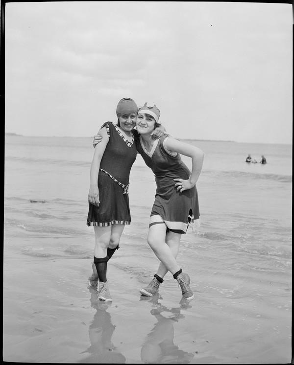 Beachfashion09 Пляжная мода 20 30 х годов XX века