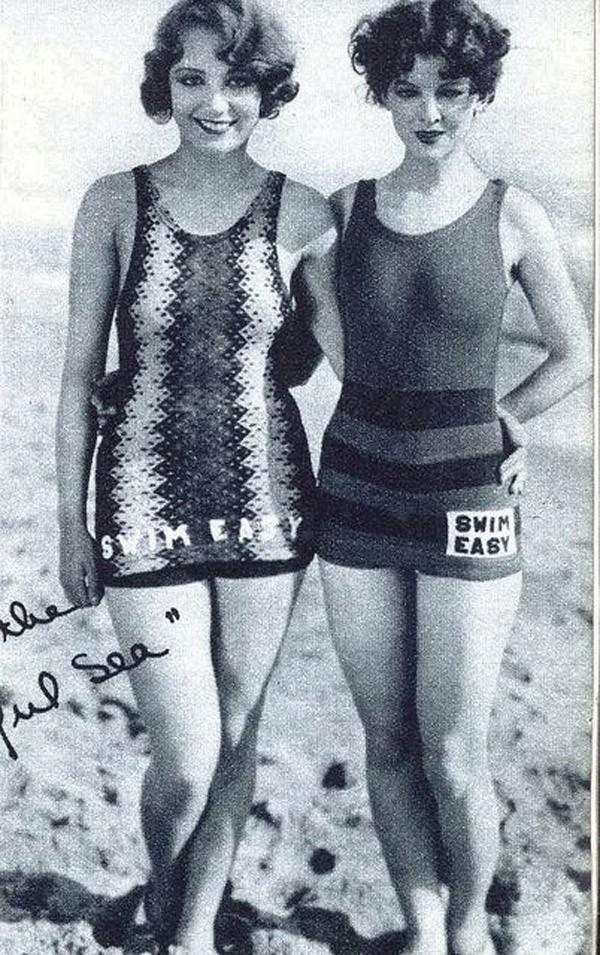 Beachfashion13 Пляжная мода 20 30 х годов XX века