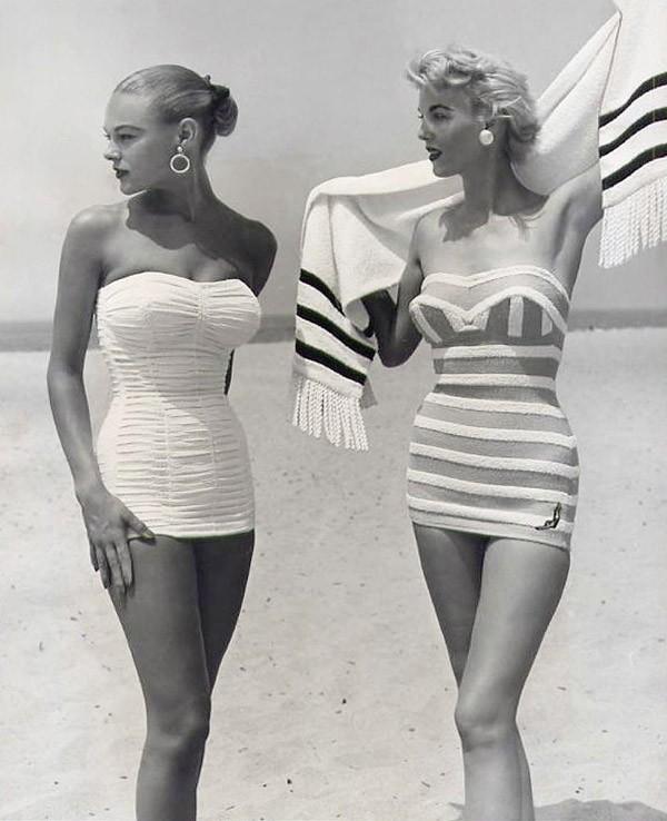 Beachfashion14 Пляжная мода 20 30 х годов XX века