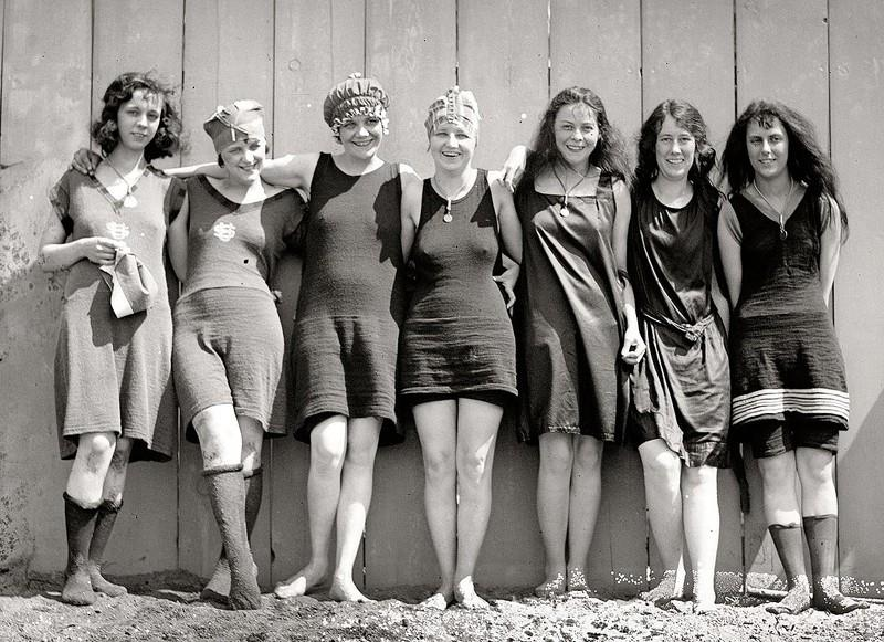 Beachfashion18 Пляжная мода 20 30 х годов XX века