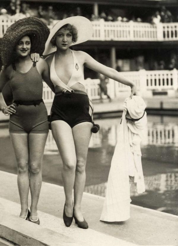 Beachfashion20 Пляжная мода 20 30 х годов XX века