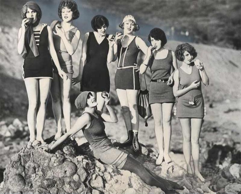 Beachfashion24 Пляжная мода 20 30 х годов XX века
