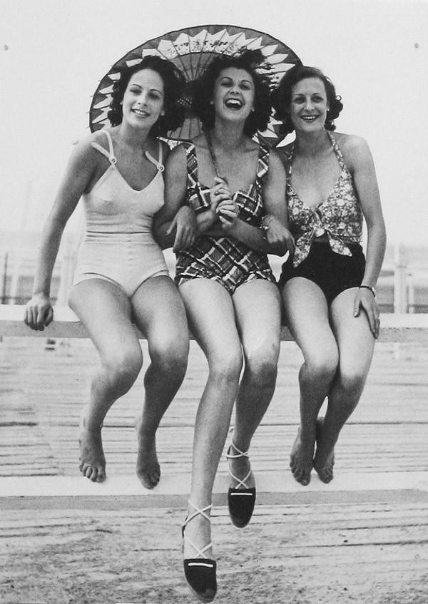 Beachfashion25 Пляжная мода 20 30 х годов XX века