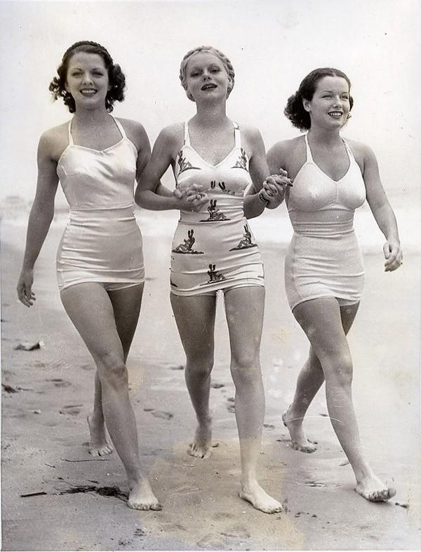 Beachfashion27 Пляжная мода 20 30 х годов XX века