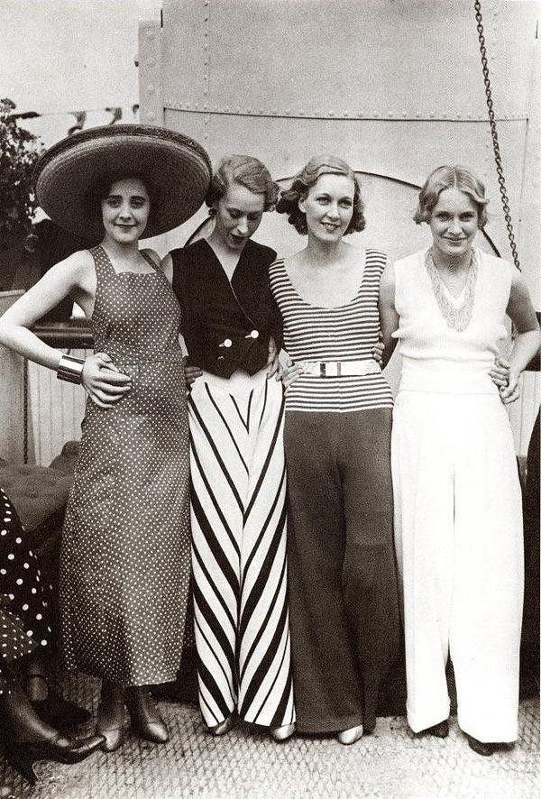 Beachfashion32 Пляжная мода 20 30 х годов XX века