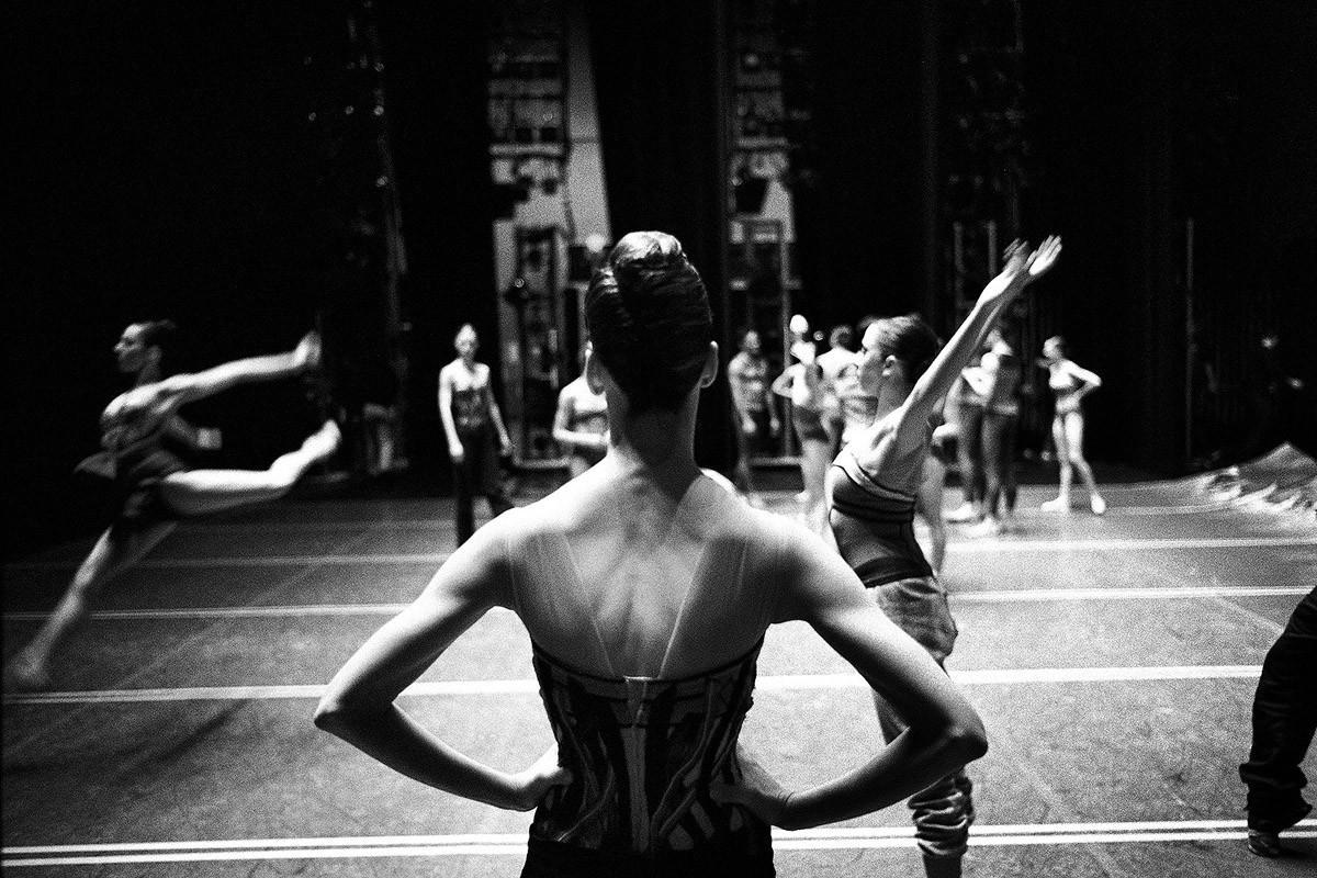 NYCB04 Мир профессионального балета глазами Генри Лютвайла