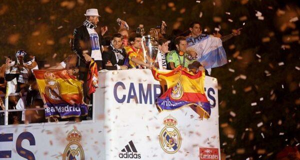 Мадрид празднует победу «Реала»
