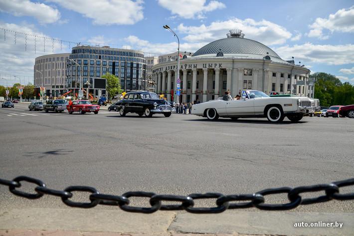 RetroAuto03 Ретропарад в седьмой раз собрал любителей автомобильной классики в Минске