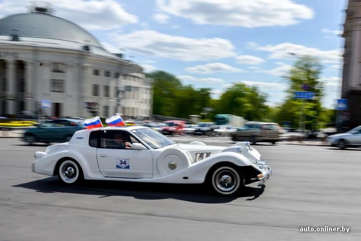 RetroAuto04 Ретропарад в седьмой раз собрал любителей автомобильной классики в Минске