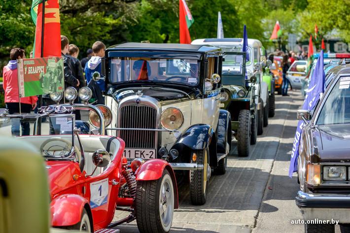 RetroAuto23 Ретропарад в седьмой раз собрал любителей автомобильной классики в Минске