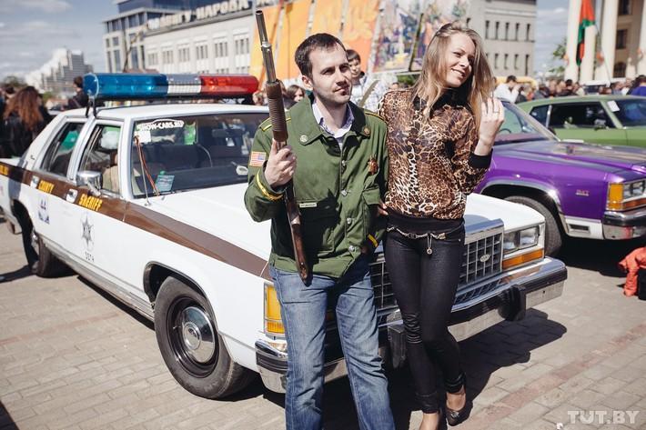 RetroAuto35 Ретропарад в седьмой раз собрал любителей автомобильной классики в Минске