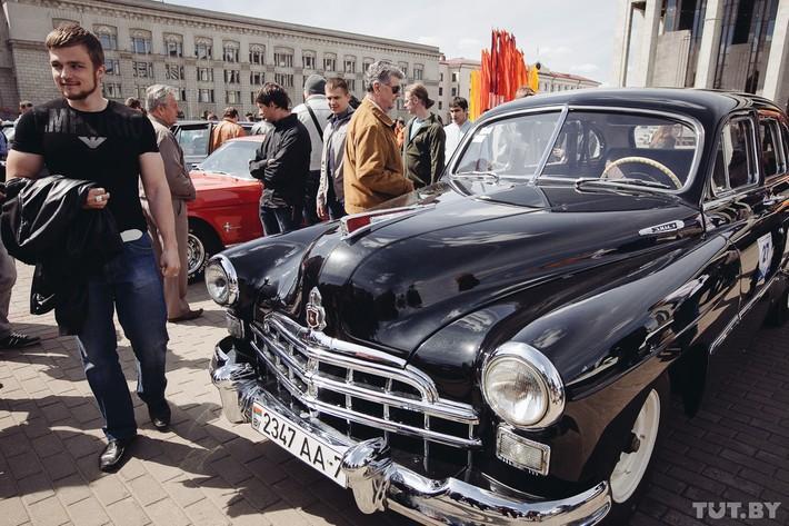 RetroAuto43 Ретропарад в седьмой раз собрал любителей автомобильной классики в Минске