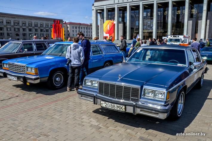 RetroAuto48 Ретропарад в седьмой раз собрал любителей автомобильной классики в Минске