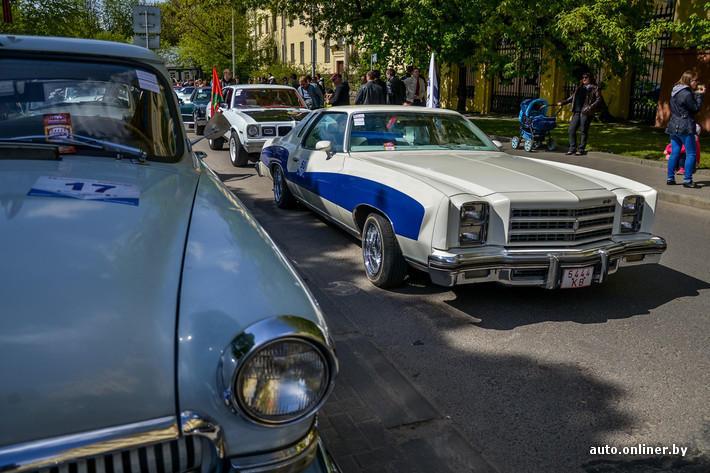 RetroAuto52 Ретропарад в седьмой раз собрал любителей автомобильной классики в Минске