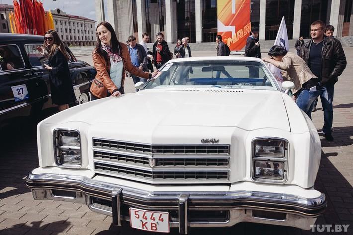 RetroAuto54 Ретропарад в седьмой раз собрал любителей автомобильной классики в Минске