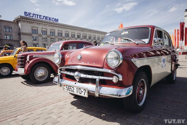 RetroAuto58 Ретропарад в седьмой раз собрал любителей автомобильной классики в Минске