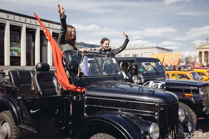 RetroAuto60 Ретропарад в седьмой раз собрал любителей автомобильной классики в Минске