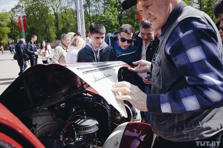 RetroAuto63 Ретропарад в седьмой раз собрал любителей автомобильной классики в Минске