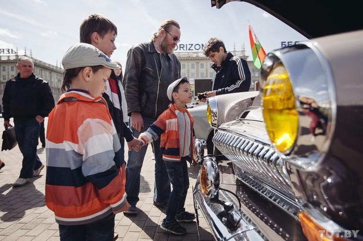RetroAuto64 Ретропарад в седьмой раз собрал любителей автомобильной классики в Минске