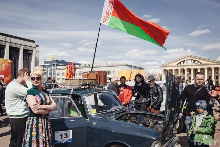 RetroAuto65 Ретропарад в седьмой раз собрал любителей автомобильной классики в Минске