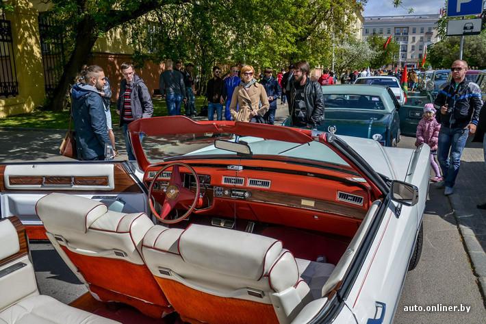 RetroAuto67 Ретропарад в седьмой раз собрал любителей автомобильной классики в Минске
