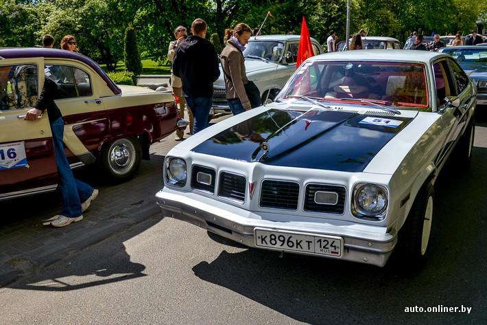 RetroAuto71 Ретропарад в седьмой раз собрал любителей автомобильной классики в Минске
