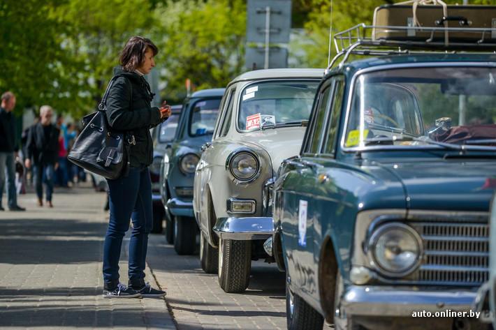 RetroAuto72 Ретропарад в седьмой раз собрал любителей автомобильной классики в Минске