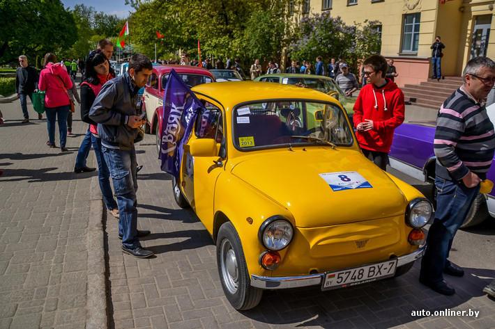 RetroAuto73 Ретропарад в седьмой раз собрал любителей автомобильной классики в Минске