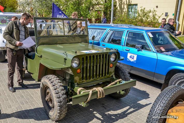 RetroAuto76 Ретропарад в седьмой раз собрал любителей автомобильной классики в Минске