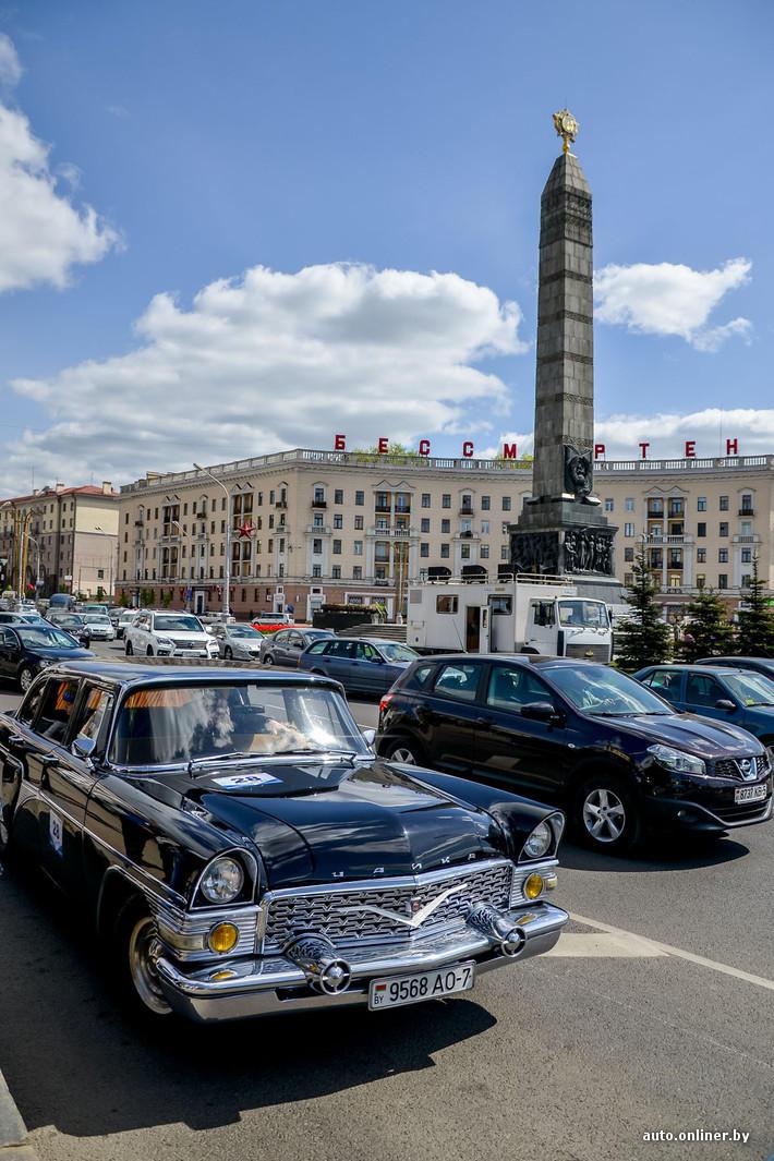 RetroAuto78 Ретропарад в седьмой раз собрал любителей автомобильной классики в Минске