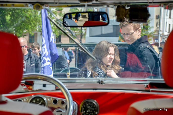 RetroAuto80 Ретропарад в седьмой раз собрал любителей автомобильной классики в Минске