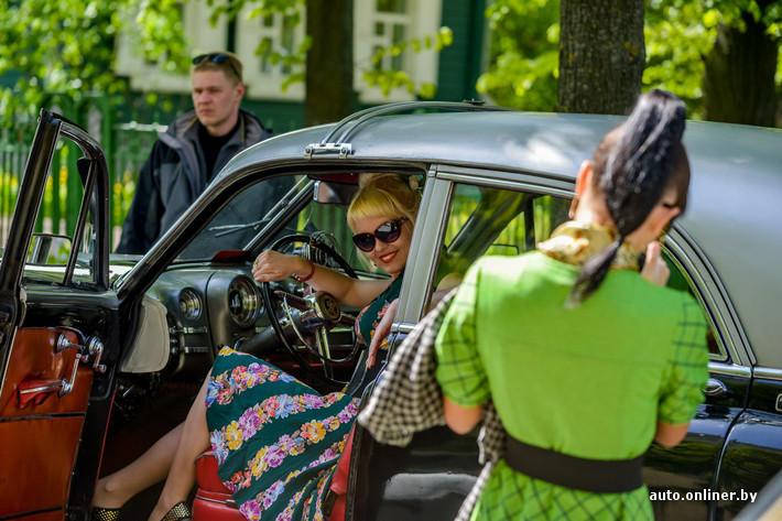 RetroAuto87 Ретропарад в седьмой раз собрал любителей автомобильной классики в Минске