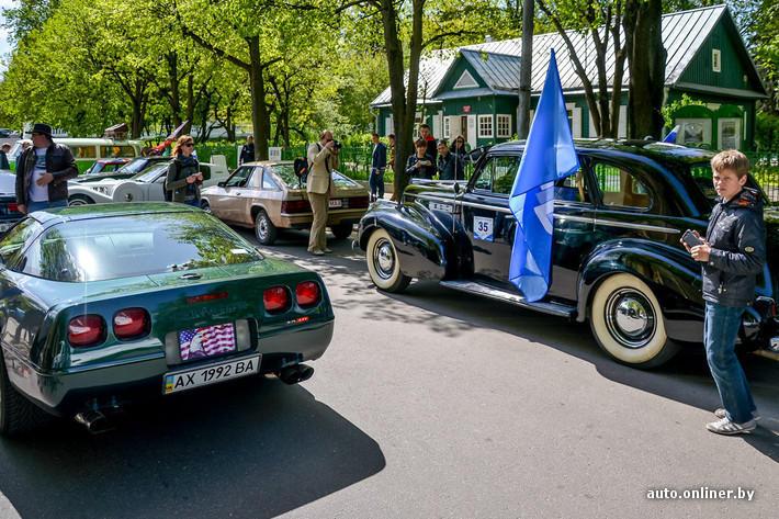 RetroAuto88 Ретропарад в седьмой раз собрал любителей автомобильной классики в Минске