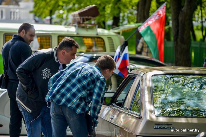 RetroAuto89 Ретропарад в седьмой раз собрал любителей автомобильной классики в Минске