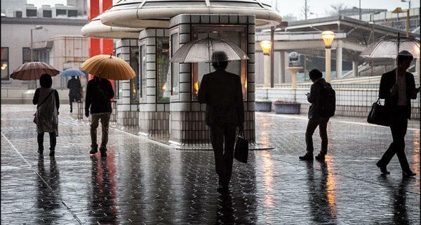 Токио, город зонтиков