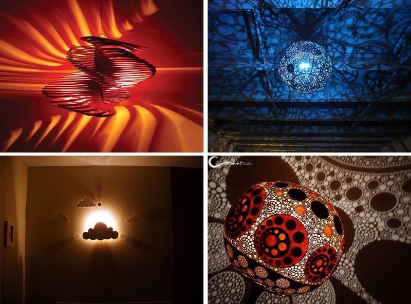 diylamps00 21 идея изготовления светильников и люстр из повседневных предметов