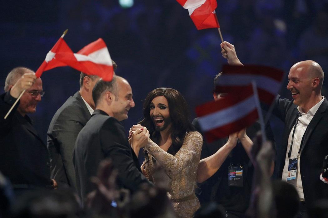 euroviden 10 На Евровидении 2014 победил Кончита