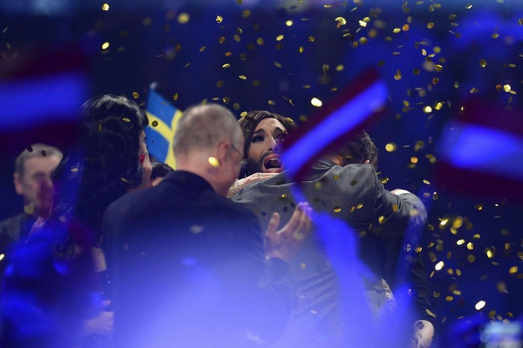 euroviden 3 На Евровидении 2014 победил Кончита