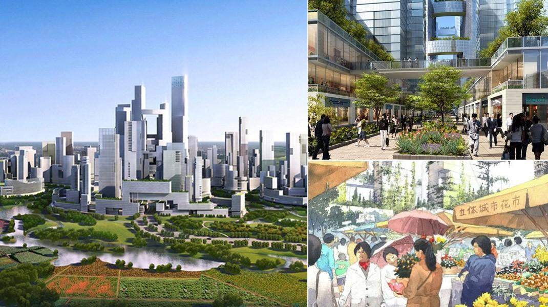 futurecity01 Города будущего: 12 уникальных проектов