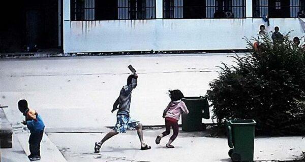 Мужчина с ножом напал на школьников вКитае