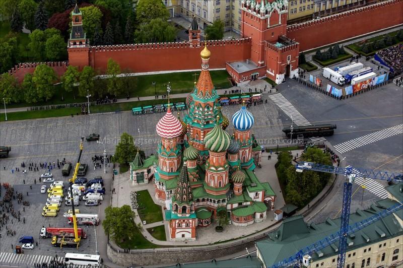 paraderehersal27 800x532 Генеральная репетиция Парада Победы и Москва с вертолета