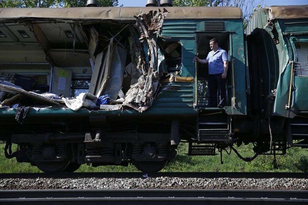 stolknovenie poezdov 2 Трагедия на железной дороге в Подмосковье