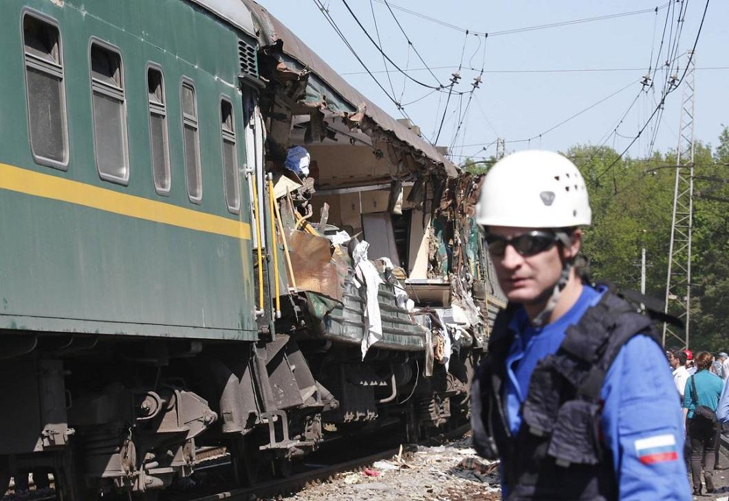 stolknovenie poezdov 5 Трагедия на железной дороге в Подмосковье