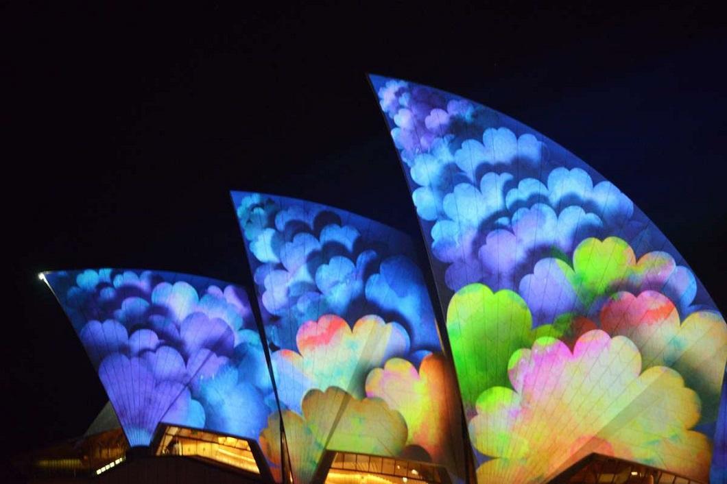 svetovoe shou 1 Фестиваль света в Сиднее