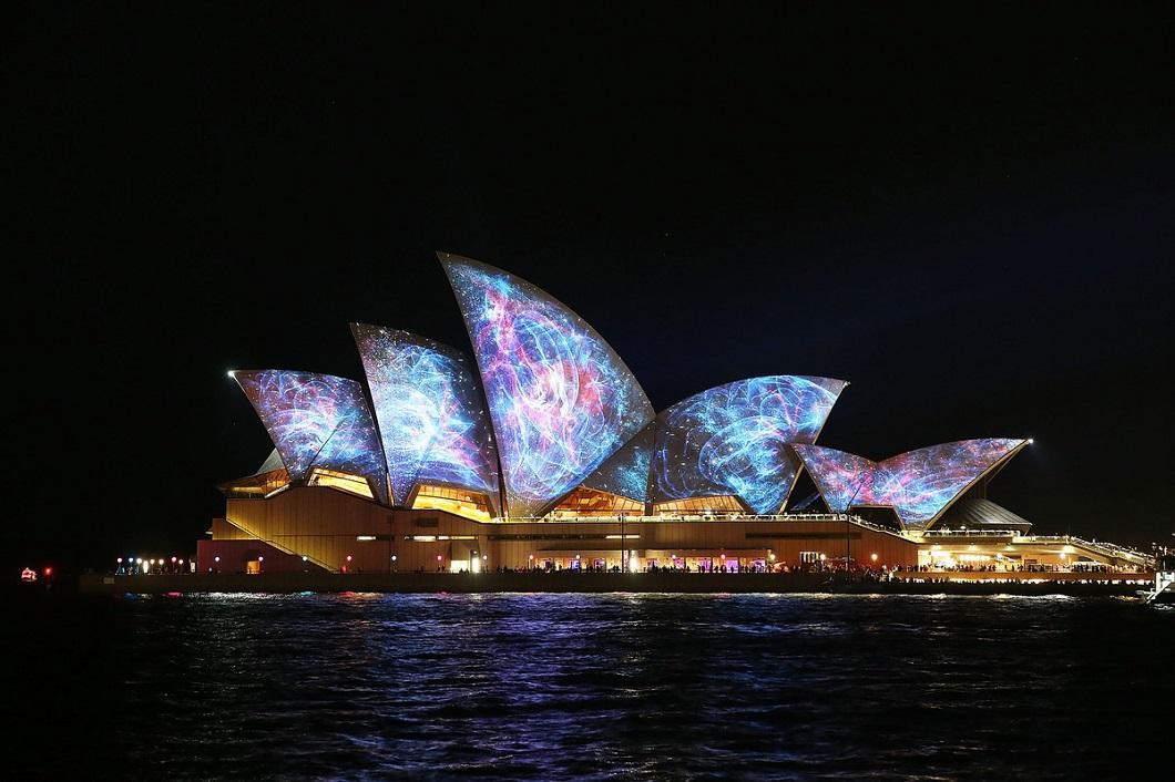 svetovoe shou 10 Фестиваль света в Сиднее