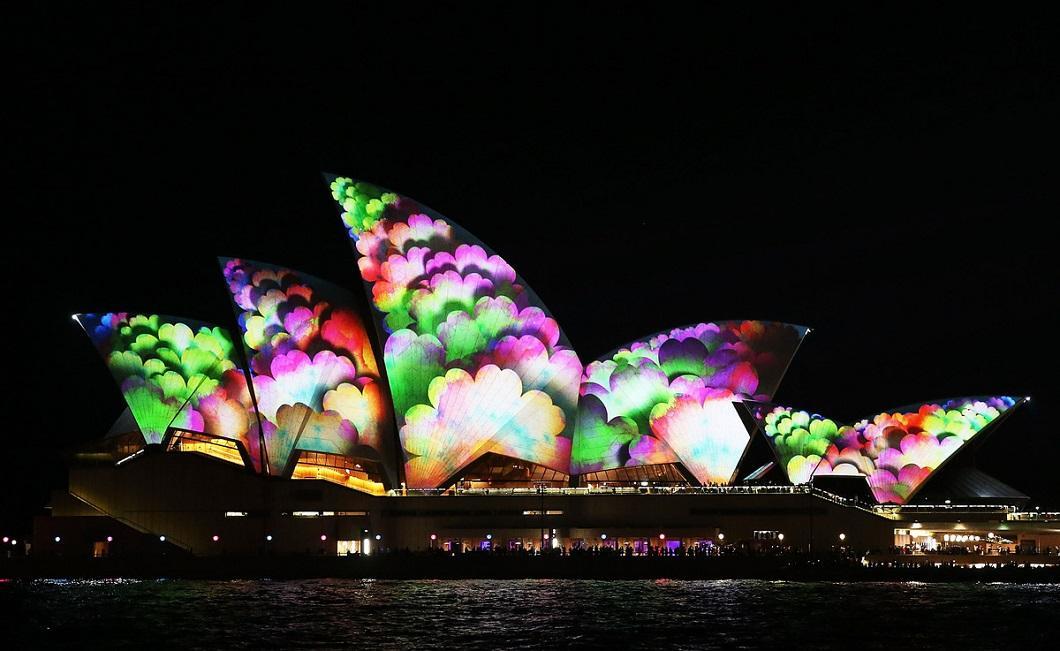 svetovoe shou 12 Фестиваль света в Сиднее